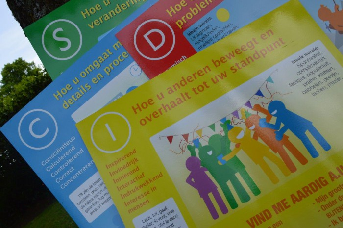 Teamdag DISC 3D drijfveren en teamrollen 111 Drenthe - Tijd voor ontwikkeling - Groepsactiviteiten, workshops, teambuilding en trainingen Drenthe