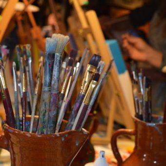 workshop schilderen vergaderen team drenthe 111 - Tijd voor ontwikkeling - Groepsactiviteiten, workshops, teambuilding en trainingen Drenthe